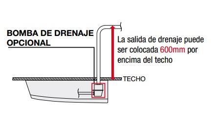 Aire acondicionado mitsubishi electric spczs 35vka for Bomba desague aire acondicionado silenciosa