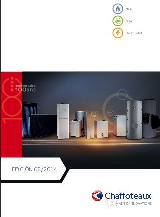 Catalogo comercial Chaffoteaux