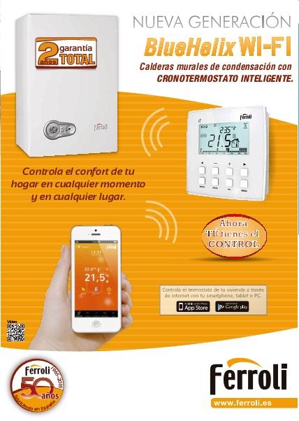 Catalogo Caldera Ferroli BlueHelix WiFi