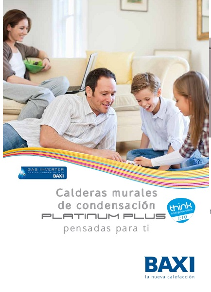 Catalogo Calderas Baxi Platinum Plus