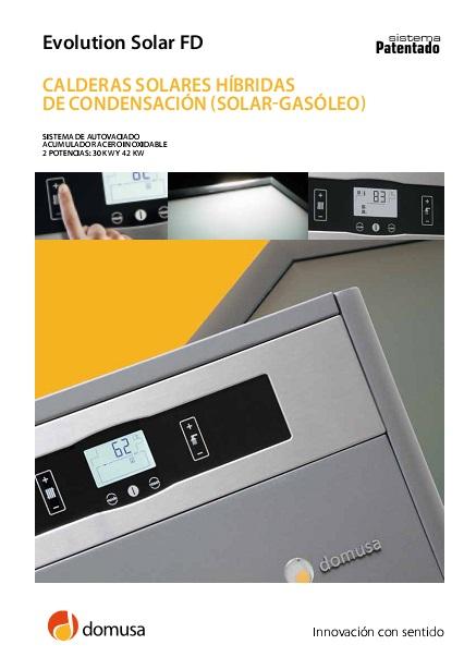 Catalogo Domusa Evolution solar FD