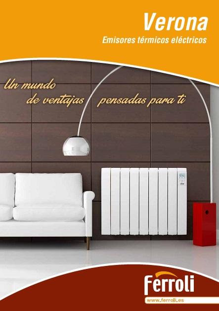 Catalogo Emisores electricos Ferroli Verona
