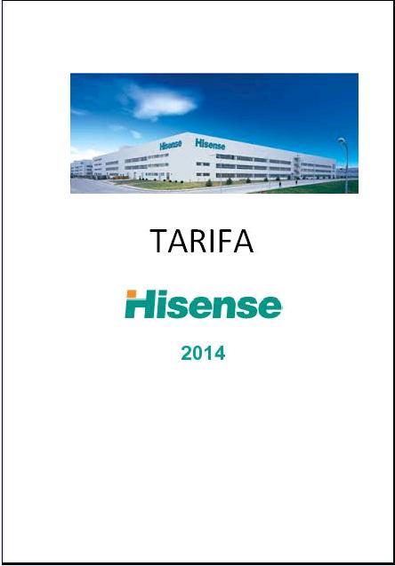 Catalogo Hisense 2014