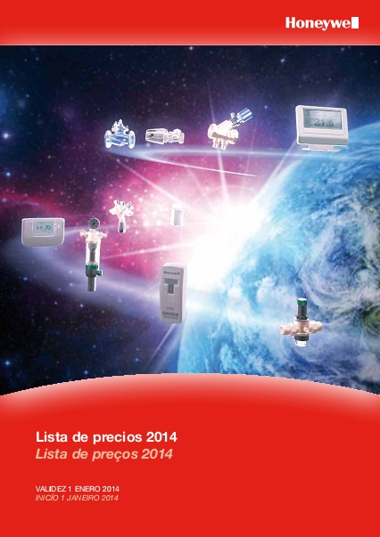 Catalogo Honeywell  2014