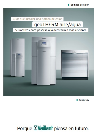 Catalogo Vaillant geoTHERM plus