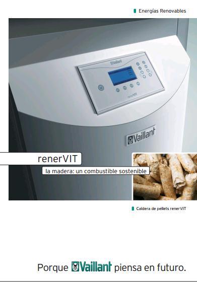 Catalogo caldera de pellets Vaillant renerVIT