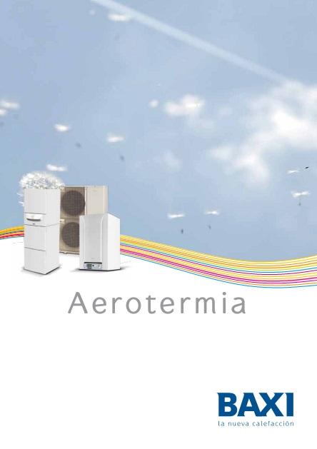 Catalogo comercial Aerotermia Baxi