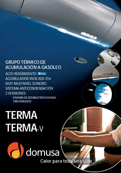 Catalogo de Calderas Domusa Terma-Terma V