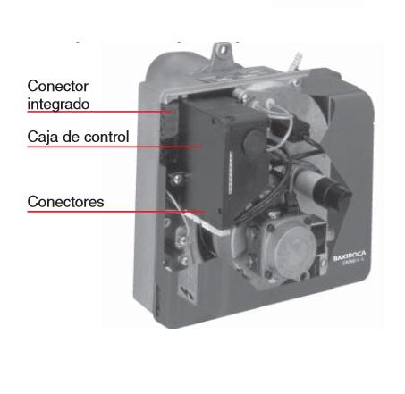 Componentes Quemador de Gasóleo Baxi CRONO