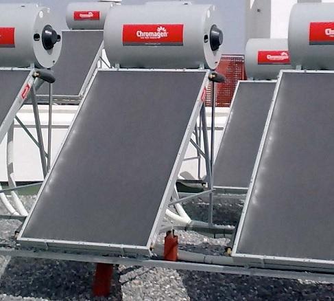 Instalación Sistema Termosifón Chromagen