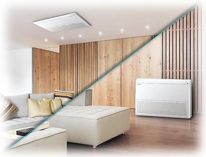 Instalacion Consola suelo-techo Samsung