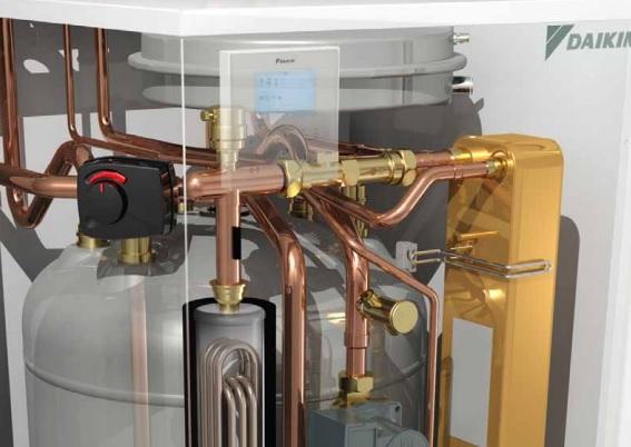 Interior Bomba de calor Daikin Mono-bloc