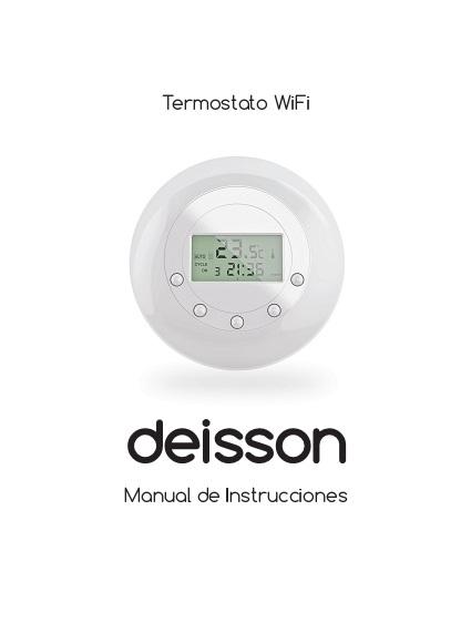 Manual termostato wifi deisson