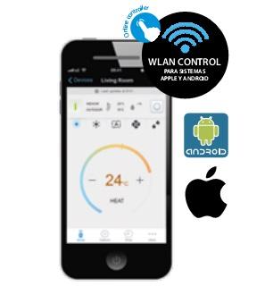 Online controller Split Daikin Serie K