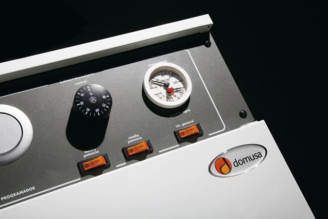 Panel Caldera eléctrica Domusa DCS-DSM