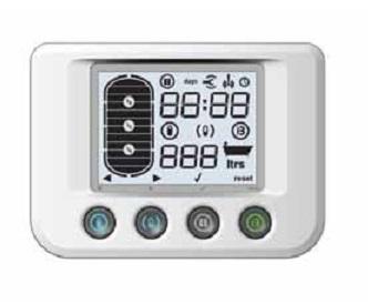Panel de control Bomba de calor Baxi BC ACS