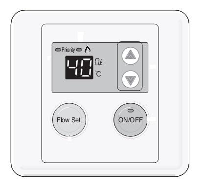 Panel de control Calentador Baxi ACQUATECH