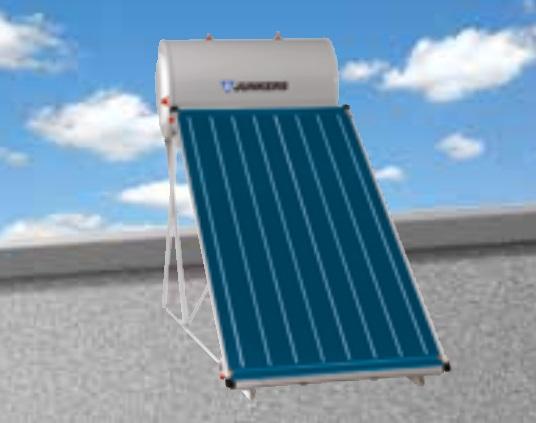 Sistema solar termosifon Junkers Smart Cubierta plana