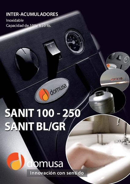 Catalogo Acumuladores Domusa Sanit 100a250