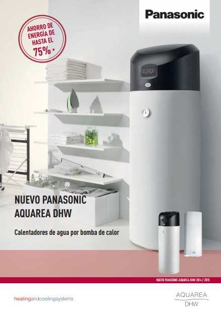 Catalogo Aquarea DHW Panasonic