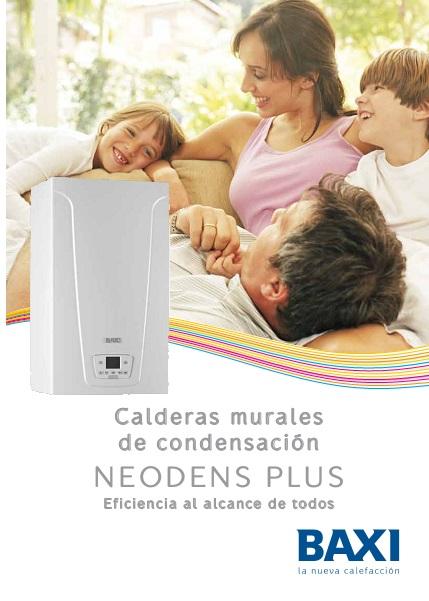 Catalogo Comercial Caldera Baxi NEODENS PLUS