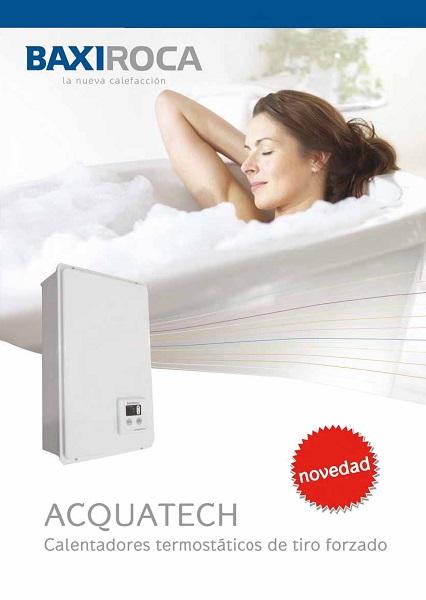 Catalogo comercial Calentadores Baxi ACQUATECH