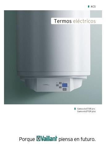 Catalogo de Termos electricos Vaillant eloSTOR