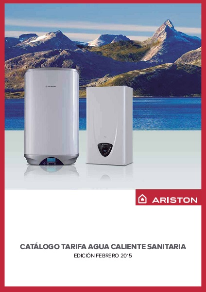 Catalogo tarifa ACS Ariston Feb 2015