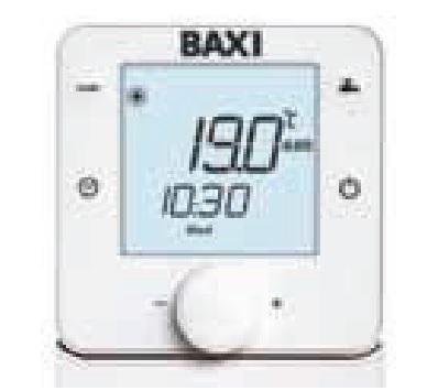 Control Bomba de calor Baxi Platinum BC Monobloc