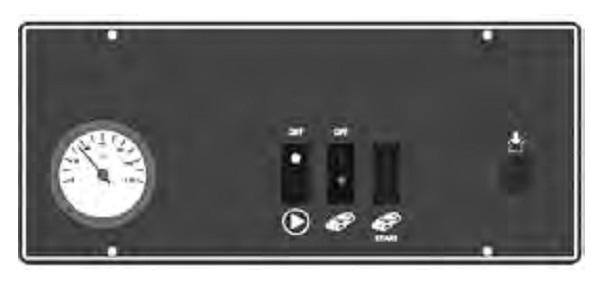 Cuadro de control Caldera de leña Baxi CBL32