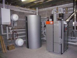 Instalación deposito de compensacion VITOCELL 340-M