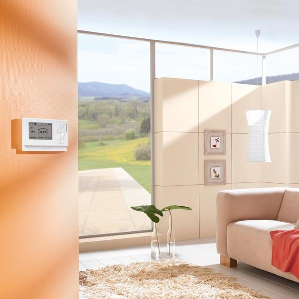 Instalación termostato viessmann vitotrol 200a