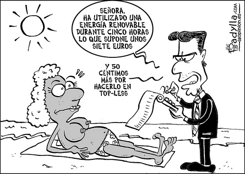 Humor Impuesto al Sol