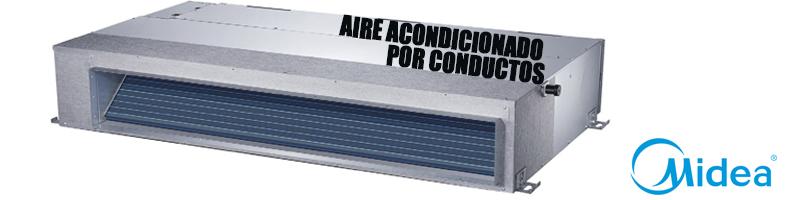 Aire acondicionado por conductos midea precios y ofertas for Maquina aire acondicionado por conductos
