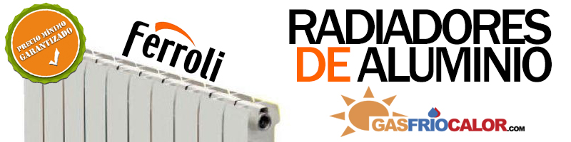 Radiador ferroli precios y venta radiadores de aluminio - Precio de radiadores de aluminio ...