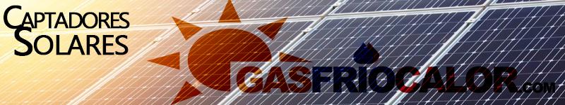 captadores solares gasfriocalor
