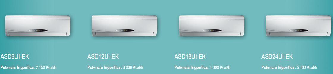 modelos daitsu AC