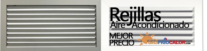 Rejillas para aire acondicionado por conductos precios for Rejillas aire acondicionado regulables