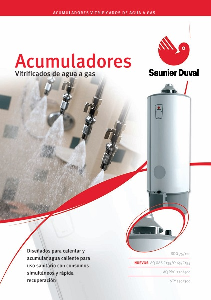 Catalogo Acumuladores a gas Saunier Duval