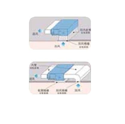 2 vias de admision del Conducto Hisense