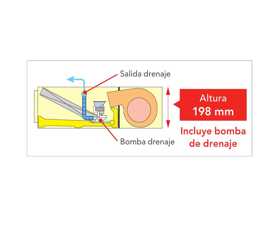 Aire Acondicionado Conductos Fujitsu ACY UiA-LL - Detalle