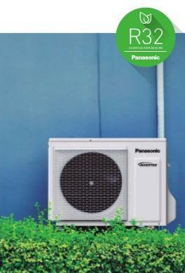 Aire Acondicionado Multi Split Panasonic - refrigerante de nueva generación R32