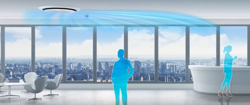 Aire Acondicionado Samsung Cassette 360º - Confort