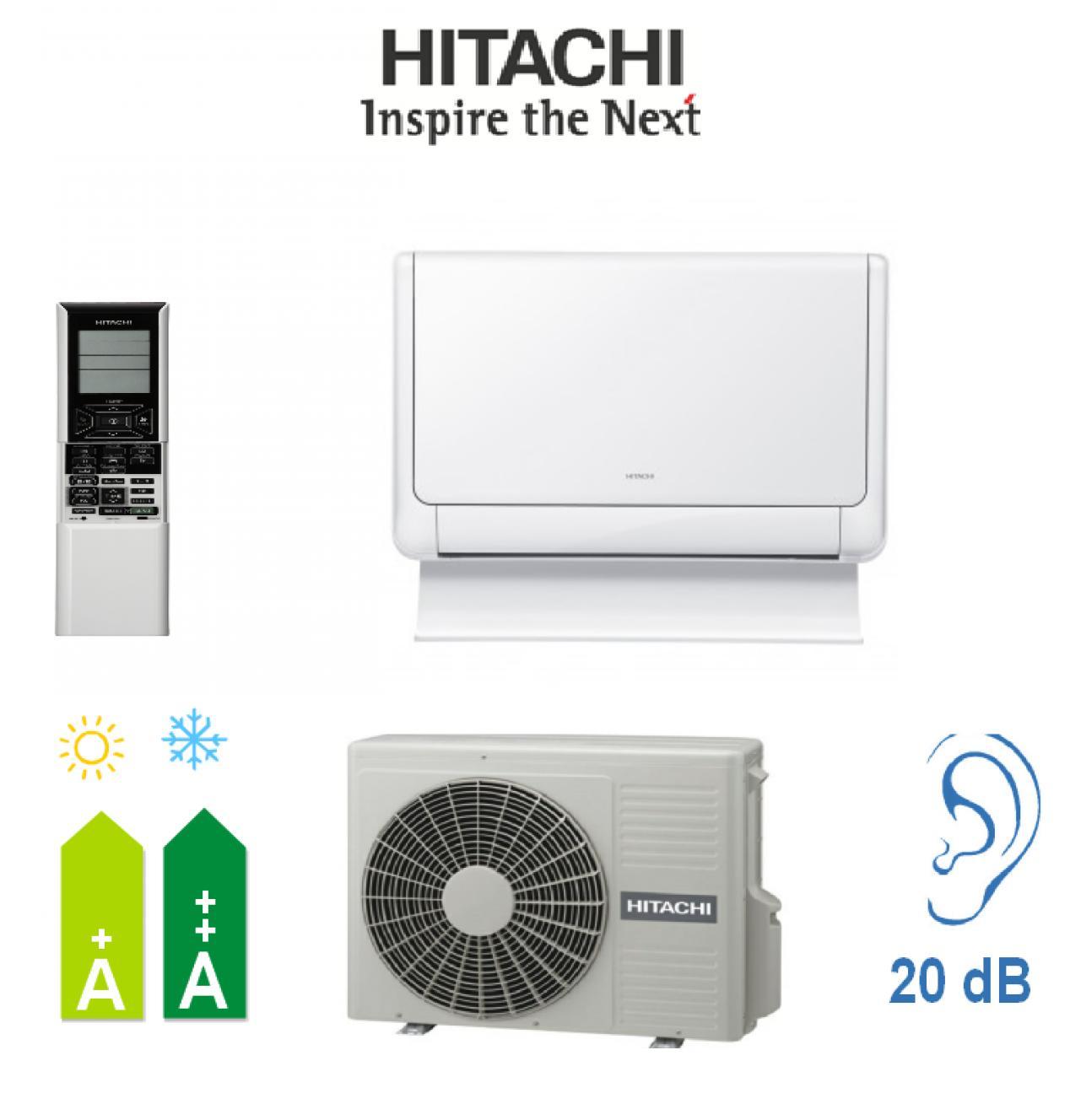 Aire Acondicionado Suelo Hitachi AKEBONO F RXB - Conjunto