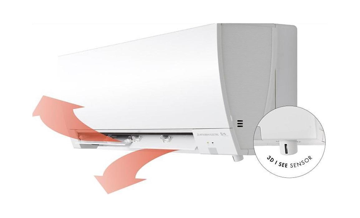 Aire acondicionado Mitsubishi Splt Serie MSZ-FH - Lamas