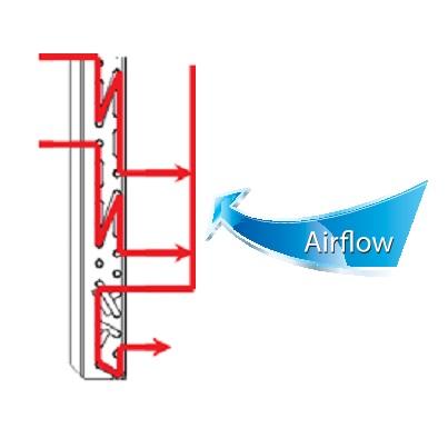 Alta eficiencia del intercambiador del Multi Split Hisense