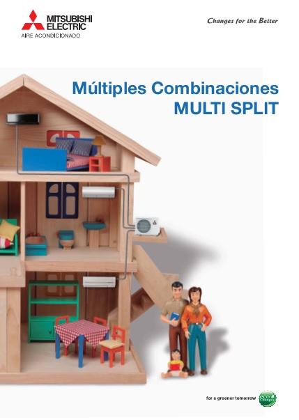 Catalogo Comercial Mitsubishi Multi Split Serie MXZ