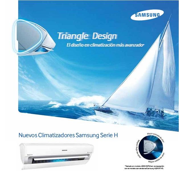 Catalogo aire acondicionado Split Samsung Serie H