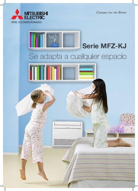 Catalogo comercial Mitsubishi Suelo-Techo - Serie MFZ-KJ