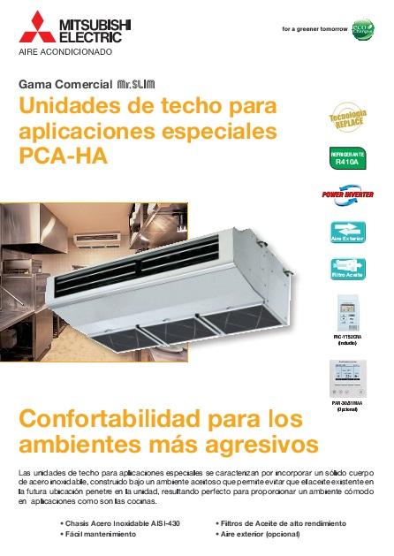 Catalogo comercial Mitsubishi Techo-Serie PCZS-VHA-Power Inverter